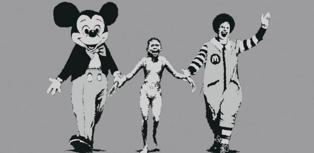 Bansky's Art Challenges American Consumerism